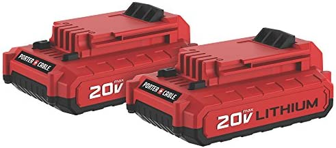 PORTER-CABLE Porter-Cable PCC680LP 20V Max Lithium Ion Battery, 2-Pack