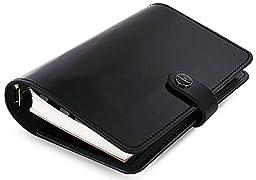 Filofax 2017 Personal Organizer, Leather, Patent Black, Paper Size 6.75 x 3.75 inches (C022436-17)