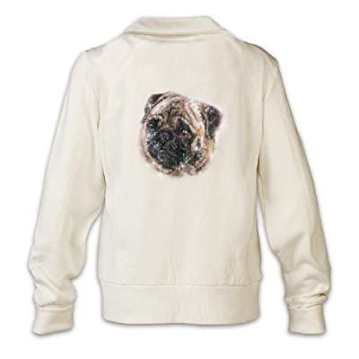 Women's Jacket: Doggone Cute Pug by The Bradford Exchange