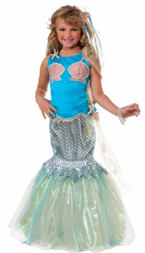 Forum Designer Collection Deluxe Mermaid Child Costume, Medium/8-10