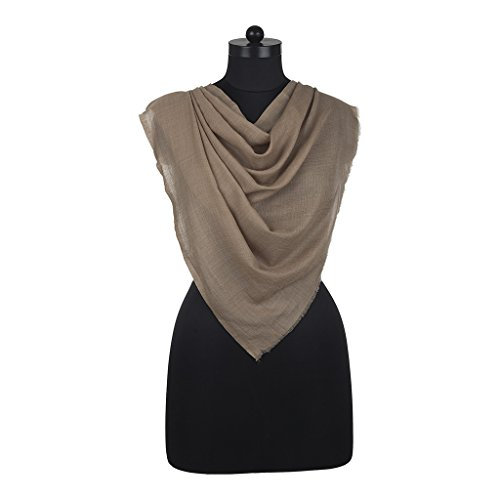 Recrafto Recrafto Attractive Brown Pashmina Stole