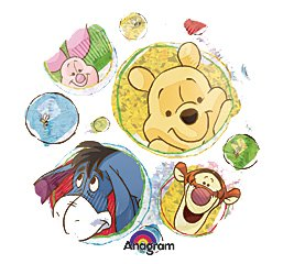"""Winnie The Pooh Icons Tigger Piglet 18"""" Balloon Mylar front-182946"""