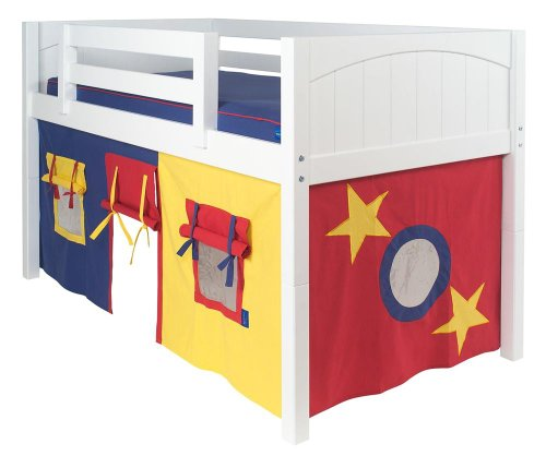 Low Bunk Beds For Kids 7646 front