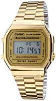 Casio - A168wg-9ef - Montre Mixte - Quartz - Digitale - Chronographe - Alarme - Eclairage - Bracelet Acier Inoxydable Dor from Casio