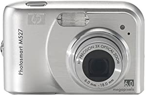 HP Photosmart M527 6MP Digital Camera with 3x Optical Zoom from Hewlett Packard