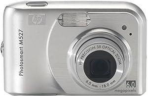 HP Photosmart M527 6MP Digital Camera with 3x Optical Zoom