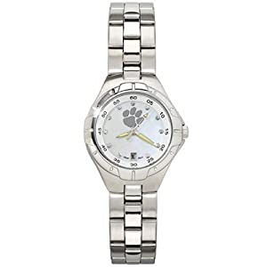 CZMPW22740Q-w-Ladies Clemson University Watch W  Cz Markers by NCAA Officially Licensed