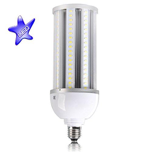 Ip64 Splashproof Led Corn Light - E40, 80W 6000Lm 5500-6500K, 162 Pcs Epistar 5730 Smd Leds, High Brightness, Energy Saving