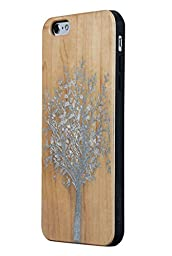 JuBeCo Patterni Design For iPhone 6/6s(4.7 Inch) iPhone Protective Shell (tree-silver)