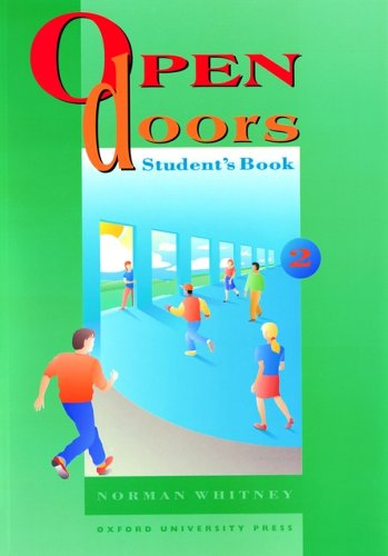 OPEN-DOORS-2-STUDENT-039-S-BOOK-STUDENT-039-S-BOOK-LEVEL-2-By-Norman-Whitney-NEW