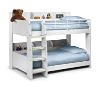 Julian Bowen Domino Single Bunk Bed, Stone White