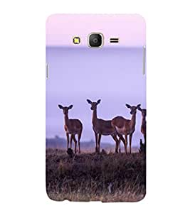 printtech Nature Animal Deer Back Case Cover for Samsung Galaxy On5