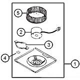 Broan-Nutone S97017415 Alu Filter Set