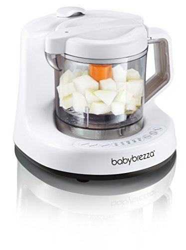 Baby Brezza Baby Brezza One Step Baby Food Maker, White/Grey