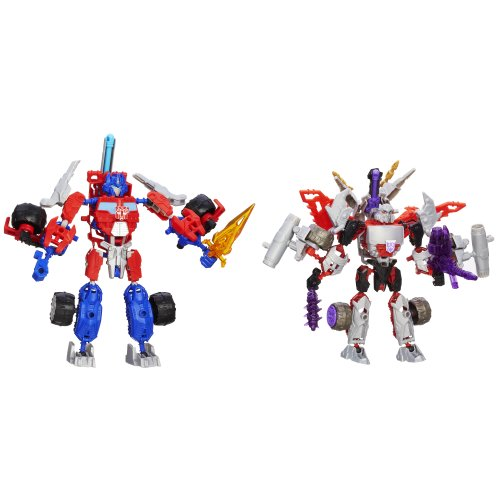Transformers Construct-A-Bots-Optimus Prime Vs. Megatron Construction Set