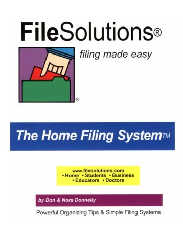 FileSolutions Filing Made Easy The Home Filing System (Home Filing Made Easy compare prices)