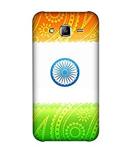 small candy 3D Printed Back Cover For Lenovo k5 Plus -Multicolor indian flag