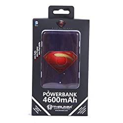 Superman Logo Slim PowerBank 4600mah (Officially Licensed) by Thrumm