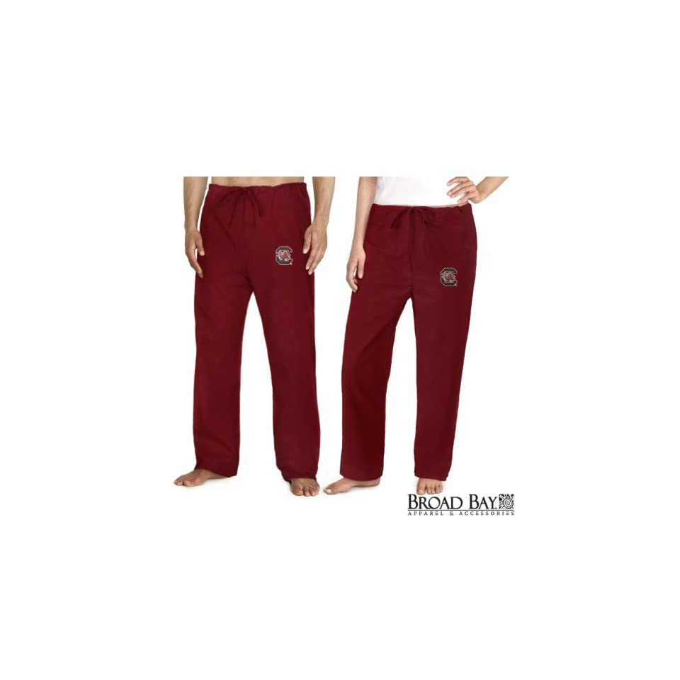 South Carolina Gamecocks Scrubs Bottoms Pants University of South Carolina For HIM or HER   DRAWSTRING Waist  Officially Licensed NCAA College Logo Apparel SEARCH BROAD BAY SCRUB FOR OTHER College Logo Apparel Unique GIFT Ideas for Man Men Woman Women Ladi