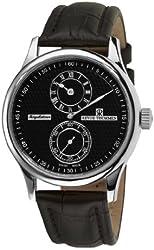Revue Thommen Men's 16065.253699999999 Regulator Analog Display Swiss Automatic Black Watch