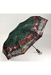 Galleria Horses Folding Umbrella