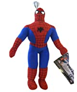 Marvel Spiderman Figure Plush w/ Window Suction Cup - Spiderman Plush