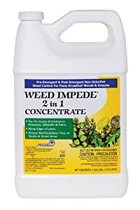Weed Impede 2-in-1 Pre-Emergent and Post-Emergent Non-Selective Weed Control - Gallon