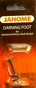 Janome Darning Foot for Horizontal Rotary Hook Models by Janome America