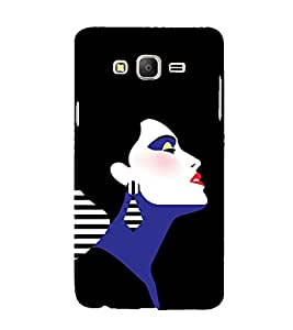 Emotions Romantic Girl 3D Hard Polycarbonate Designer Back Case Cover for Samsung Galaxy On5 :: Samsung Galaxy On 5 G550FY