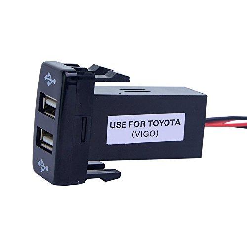 mictuning-21a-dual-toyota-usb-power-socket-usb-car-charge-for-smart-phone-pda-ipad