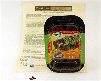 Countertop Herb Garden Kit : Your Own Kitchen Countertop. - Buy Basil Mini Herb Garden Starter Kit ...