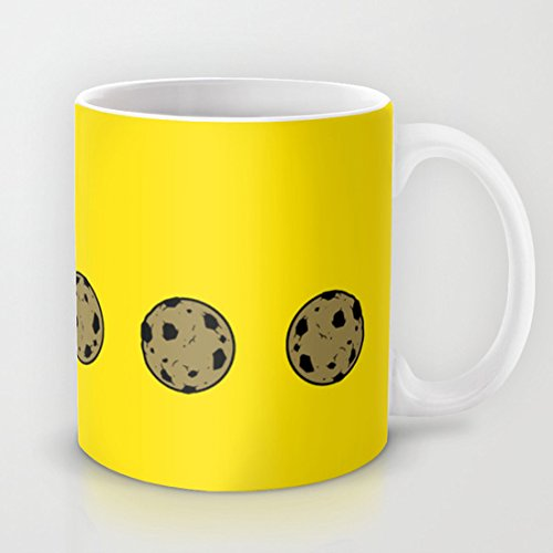 Cookie monster Pacman Mug Classic Coffee Mug Best Gift Ceramic Material Mug