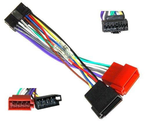 Aerzetix-Z4-ISO-KonverterAdapterKabel-Radio-Adapter-Kabel-Stecker-ISO-Kabel-Verbindungskabel-fr-Pioneer-DEH-P-4100-RDS-B-DEH-P-4120-RDS-RDS-DEH-DEH4130-P-5120-5130-RDS-RDS-DEH-P