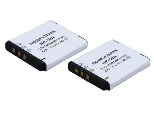 [Set of 2] Pentax Optio A36 S10 S12 S20 PENTAX Q7 D-LI122 compatible battery