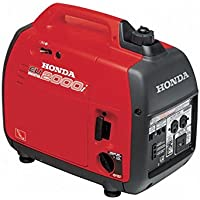 Honda EU2000T1A1 2000 Watt Gasoline Portable Generator - Red
