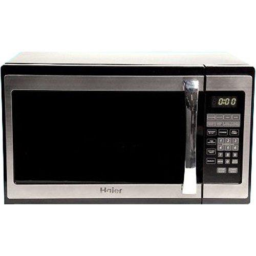 HAIER 1.3CF 1100-Watt Microwave, Stainless Steel