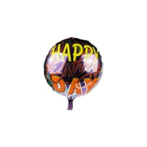 smartcraft Happy Birthday Foil Balloon Purple , Kids Party Supplies , Theme Birthday Party , Foil Ballons , Birthday Balloon