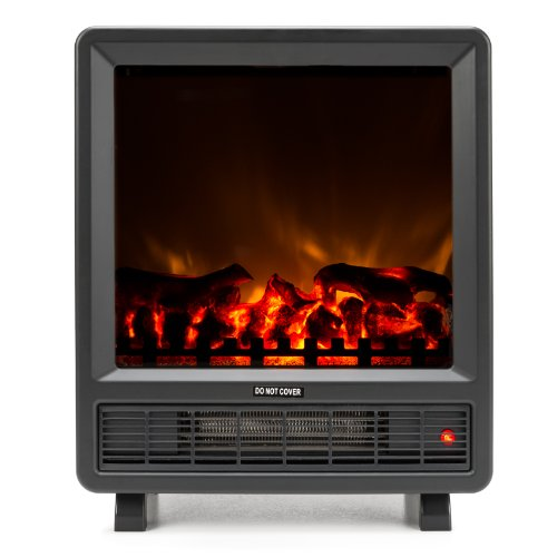 Cheap Best Selling Free Standing Electric Fireplace Stove - 18 Inch Black Portable Electric Fireplac...