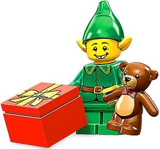 Lego Mini-Figures - Series 11 - Holiday Elf - 1