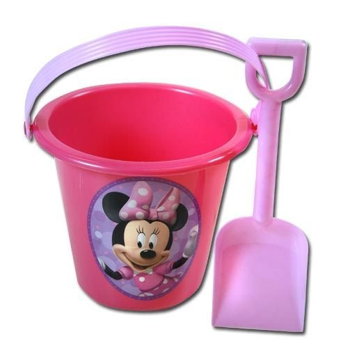 Minnie Bowtique Sand Bucket and Shovel