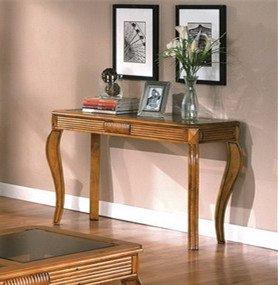 Oak Bedroom Vanity front-1079321