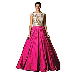 bridal collection pink fancy Embroidered gown