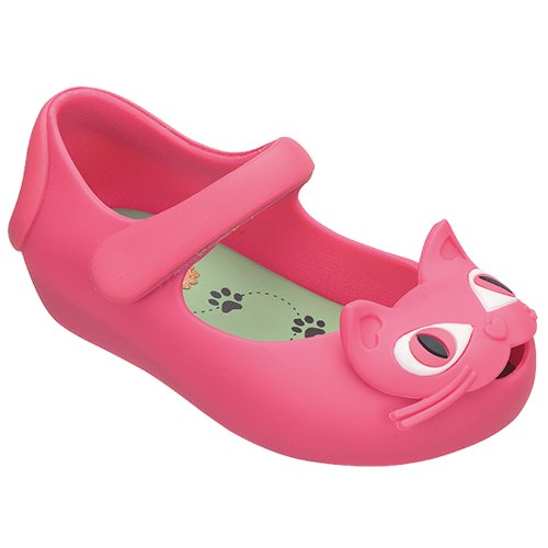 "Mini Melissa Toddler ""Ultragirl Ii"" Mary Jane Flat Shoes - Fuchsia 9 M Us Toddler"