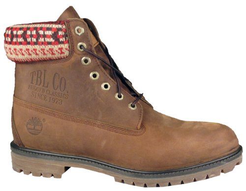 Timberland 6 Inch Premium Mens Boots 6334R Brown Nubuck 9.5 M US