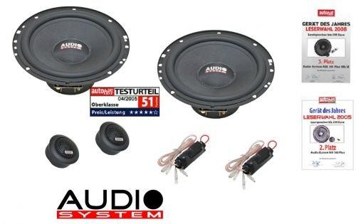 Audio system m plus 165 haut-parleur pour seat mii 16,5 cm (à partir de 2011, portes à l'avant