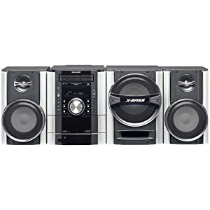 Sharp CDSW340 Mmini Component System with 500 Watts Total Output and 5 CD Multi-Play Changer (Discontinued by Manufacturer)