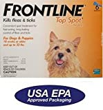 Dog Flea Medicine :  dog advantage frontline adams