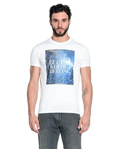 Armani Jeans Camiseda Manga Corta A6H07-Da 10 Blanco