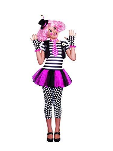 [SugarSugar Girls Clownin' Around Costume, One Color, X-Large, One Color, X-Large by Sugar] (Clownin Around Girls Costumes)