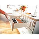 """Blum Tandem Premium Undermount Slides With Integrated Soft Close Full Extension For 15"""" Drawers 100# Class"""